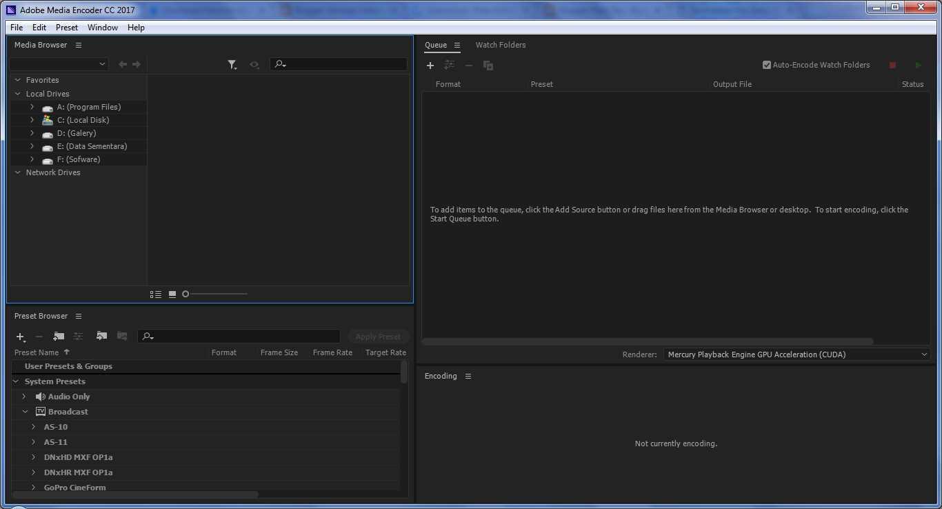 download adobe media encoder cc 2017 offline