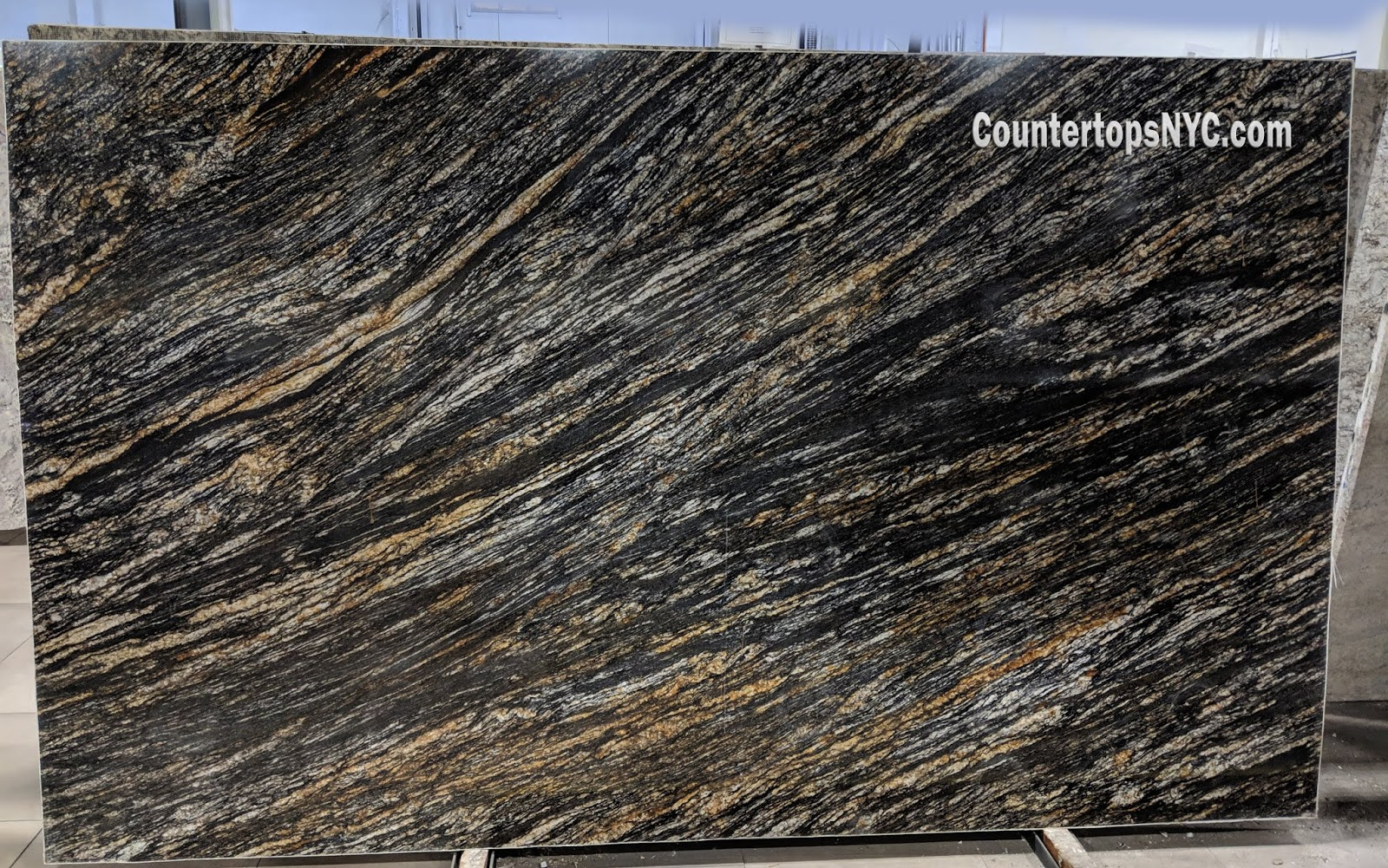 Hidden Treasure Black Granite Countertops NYC
