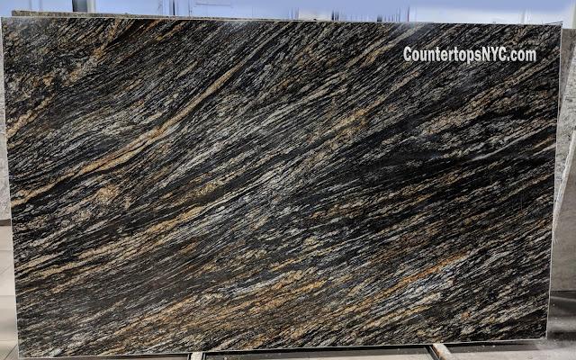 Hidden Treasure Black Granite Countertops NYC