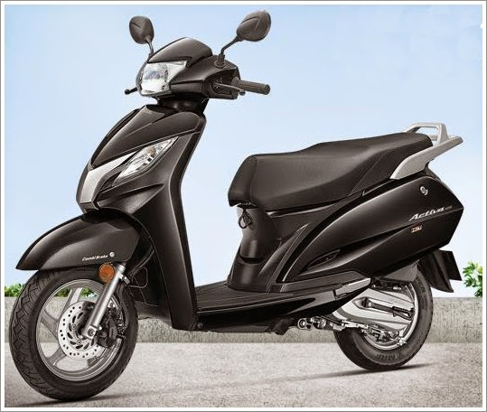 Honda Activa 125 cc black color