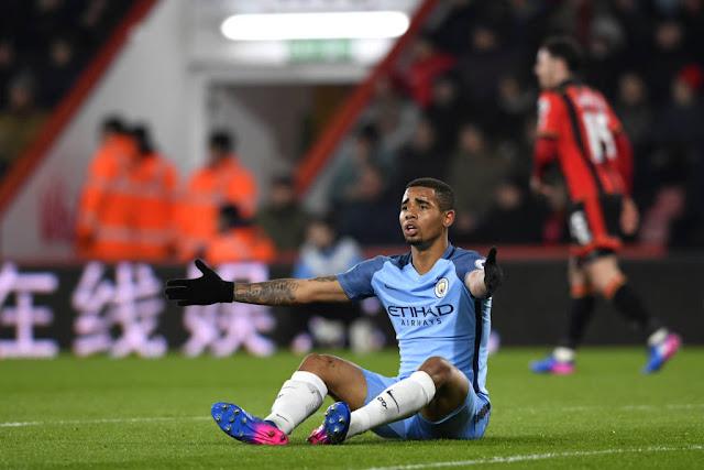 Gabriel Jesus já marcou três gols com a camisa do Manchester City (Foto: Stu Forster/Getty Imagens)