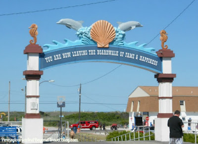 North Wildwood Boardwalk Arch in New Jersey