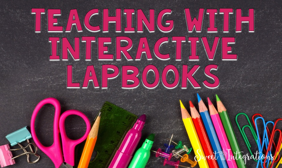 Students love hands-on activities. They can use their creative skills with interactive lapbooks. I'm sharing tips in using lapbooks in the classroom.