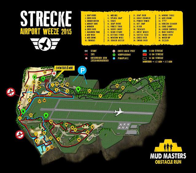 Hindernisse Mud Masters 2015