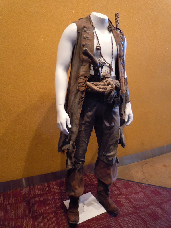 Quartermaster movie costume Pirates of the Caribbean 4