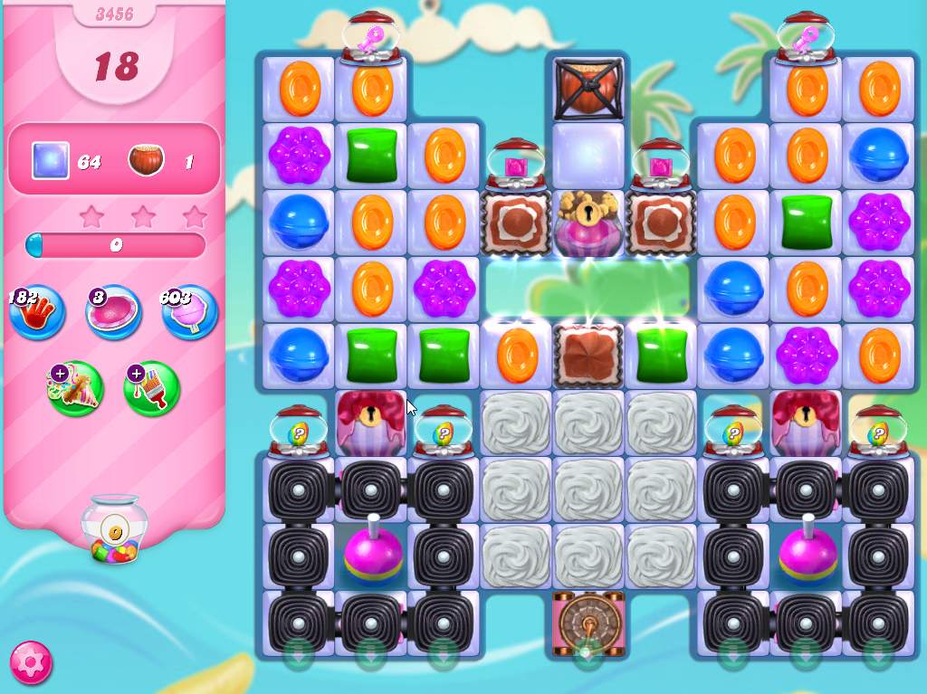 Candy Crush Saga level 3456