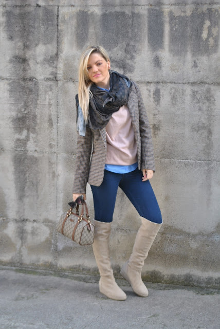 outfit jeans e stivali al ginocchio come indossare gli stivali al ginocchio come abbinare gli stivali al ginocchio stivali al ginocchio michele negri how to wear over the knee boots how to combine over the knee boots over the knee boots outfit michele negri boots outfit febbraio 2016 outfit casual invernali outfit invernali ragazze bionde blonde hair blondie blonde girl mariafelicia magno fashion blogger colorblock by felym fashion blog italiani fashion blogger italiane blog di moda blogger italiane di moda fashion blogger bergamo fashion blogger milano fashion bloggers italy italian fashion bloggers influencer italiane italian influencer
