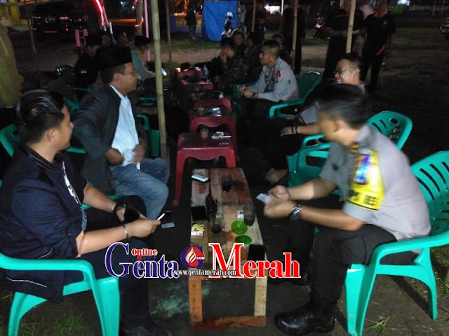 Pastikan Keamanan Pilgub Lampung,  Polres Lamteng Lakukan Patroli
