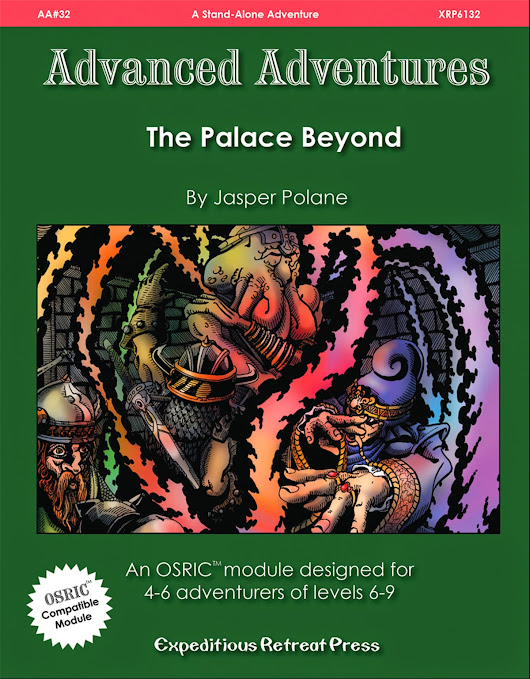 Advanced Adventures #32: The Palace Beyond is now available!