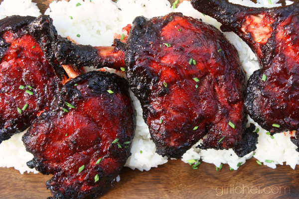 Char Siu Duck Legs (Chinese Barbecue)