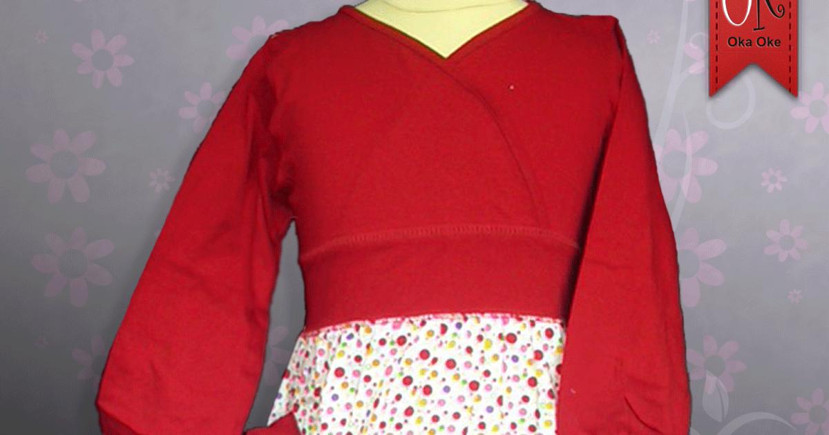 Contoh Gambar Baju Gamis Untuk Anak Perempuan Berikut Ini