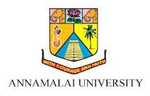 Annamalai University Application Form