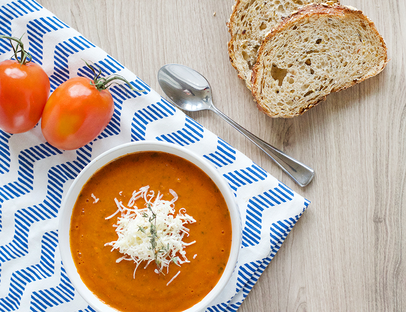 Tomato Basil Soup | Obsessive Cooking Disorder