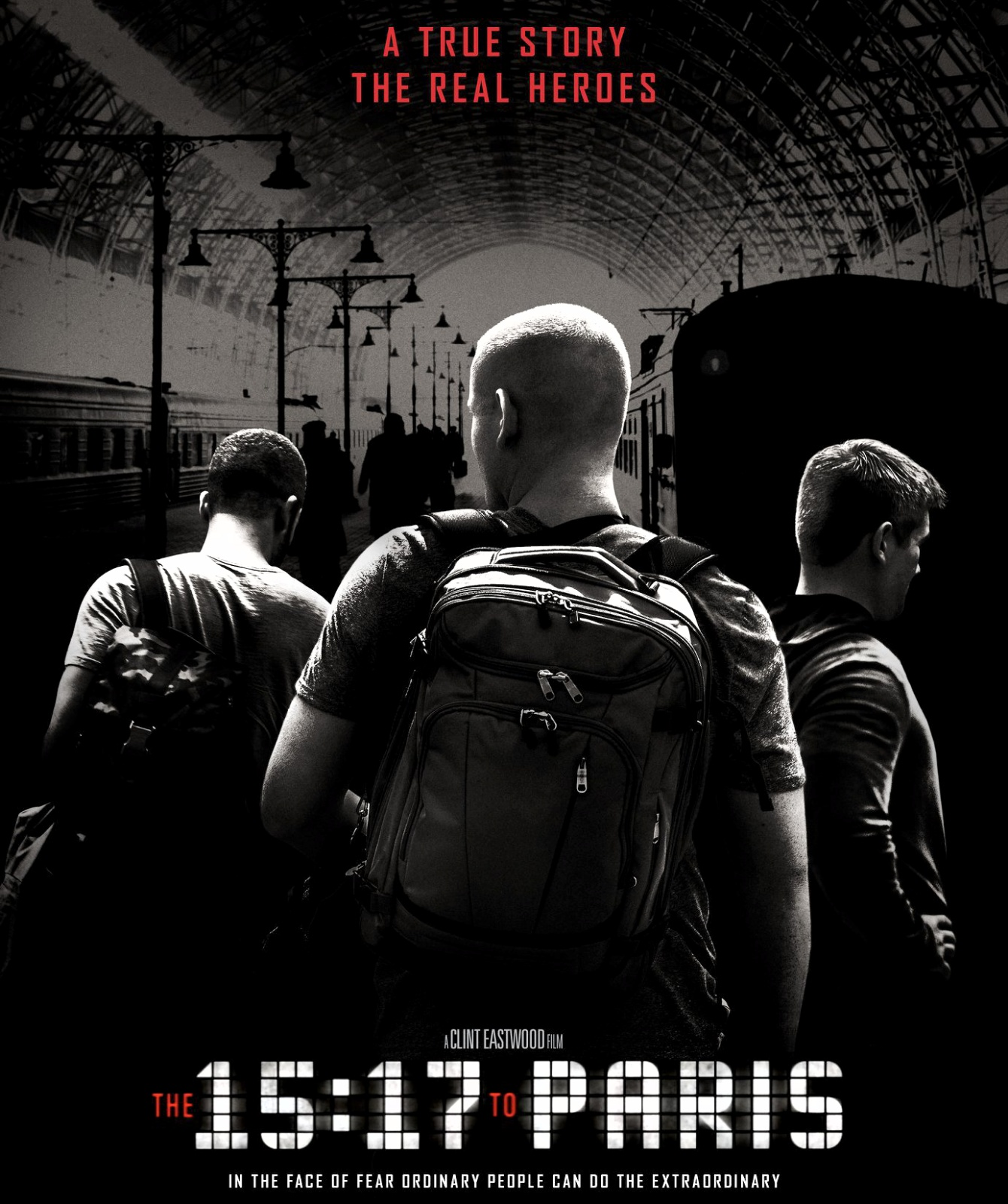 The 15:17 To Paris (2018) English Movie Review, Trailer