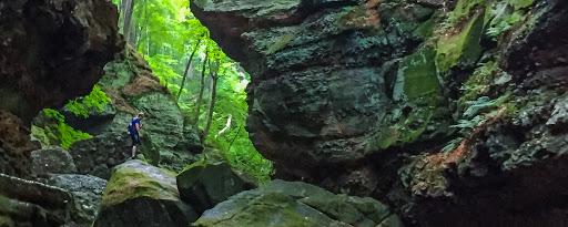 hiking parfreys glen