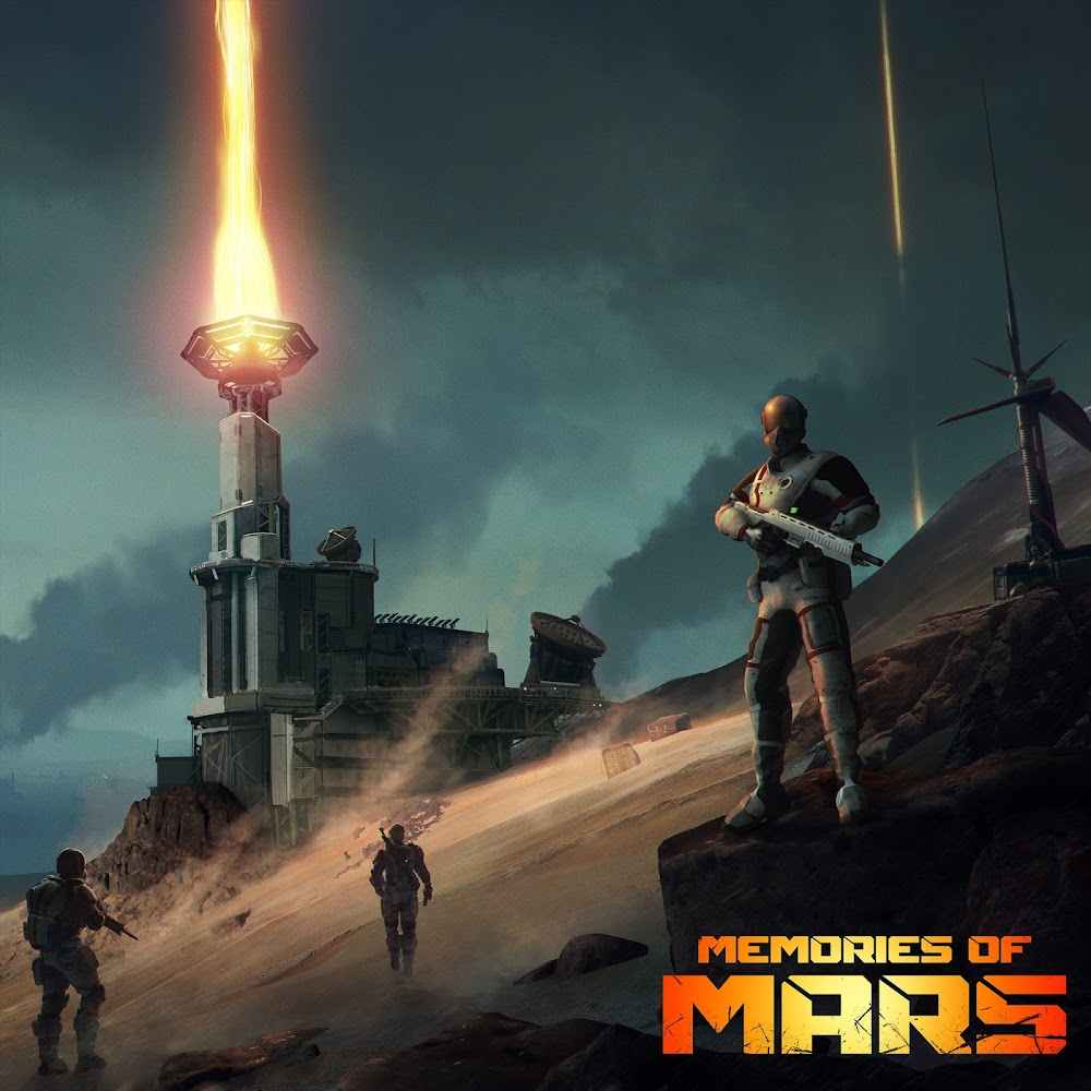 Memories of Mars game cover art
