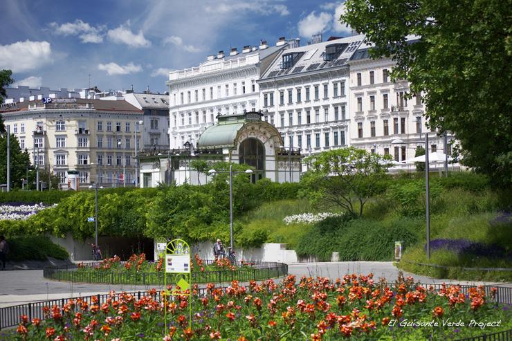 Pabellón Otto Wagner, Karlplatz - Viena, El Guisante Verde Project