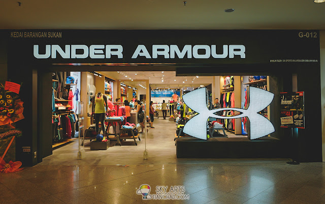 Under Armour Brand Outlet in Mid Valley Megamall