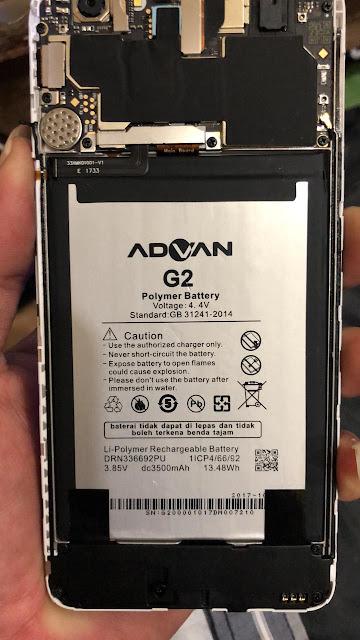bypass frp Advan G2 I55C