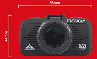 Camera hành trình Vietmap K9 Pro siêu nét 2K