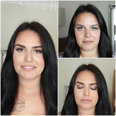 bridal makeup staffordshire