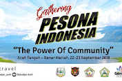 Gathering Pesona Indonesia digelar Sabtu