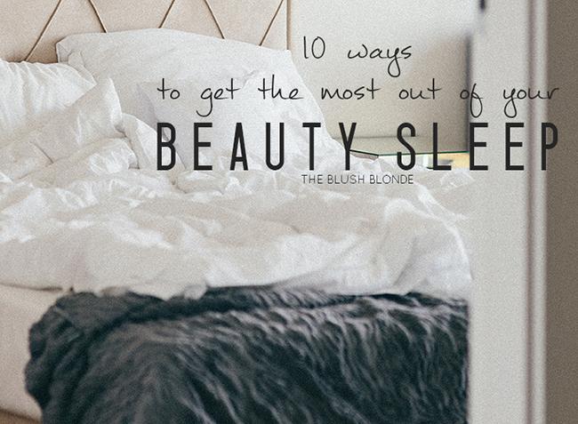 Guest Post: Beauty Sleep - A Good Hue