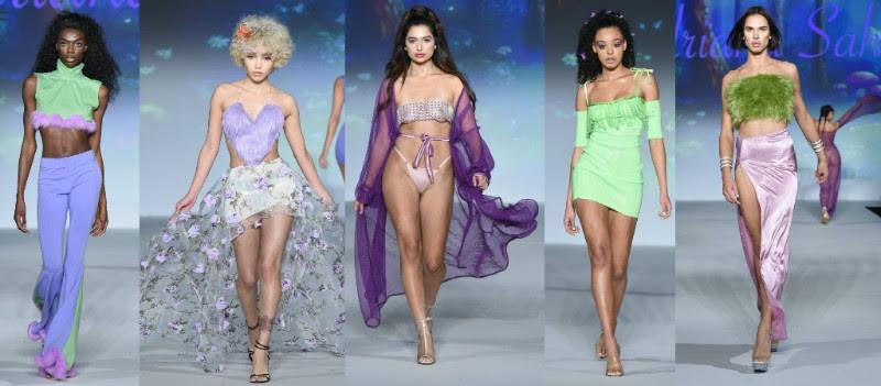 America S Next Top Model Alums Take The New York Fashion Week Runway Reana Ashley