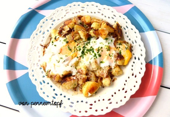 Penne Im Topf Euer Regentage Essen Meins Bratkartoffeln Mit Käse