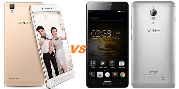 Oppo F1 vs Lenovo Vibe P1 Turbo
