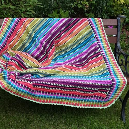 Skittles Blanket - Free Pattern