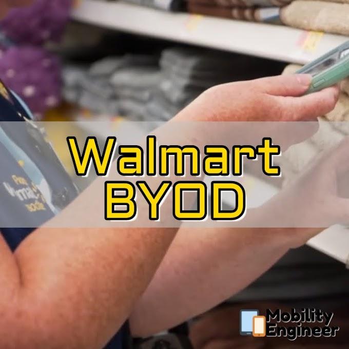 Walmart's interesting BYOD