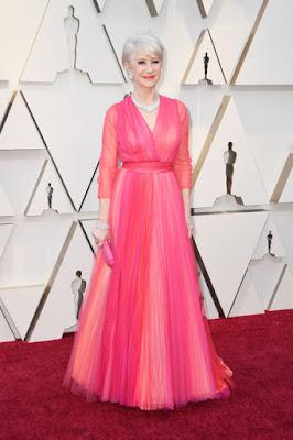 #Moda - Óscares 2019 Helen Mirren