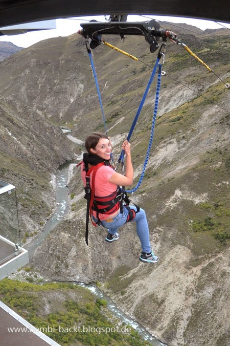 Queenstown Nevis Swing New Zealand South Island | Foodblog rehlein backt