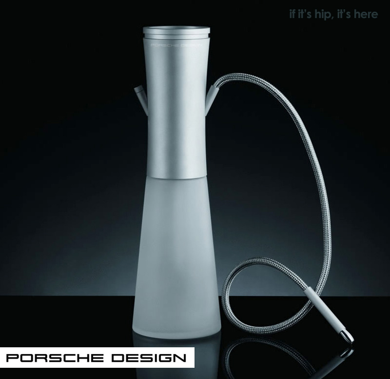 if it 39 s hip it 39 s here archives the shisha a high end hookah from porsche design is smokin 39. Black Bedroom Furniture Sets. Home Design Ideas