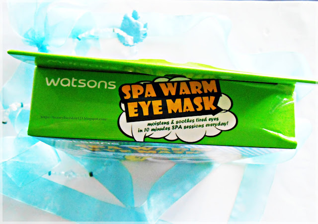 Watsons Spa Warm Eye Mask Chamomile Aroma