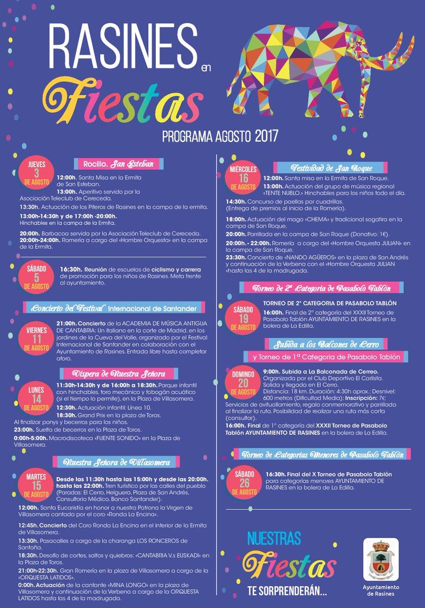 Fiestas en Rasines 2017