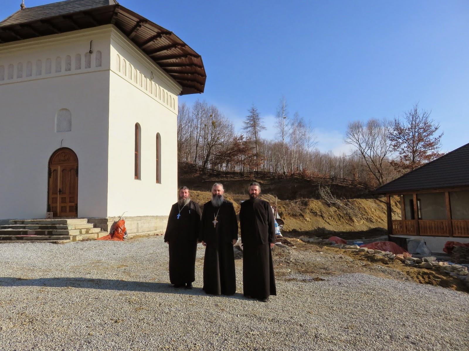 Botezul pruncii Antonia-Teodora Rosca, Manastirea Stramba