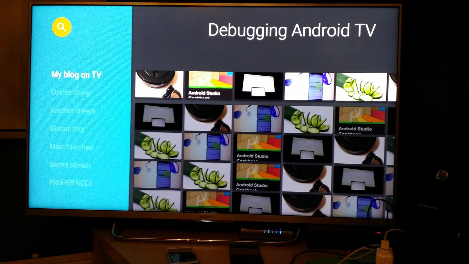 App development stories: Apps on the big screen part III: Debugging