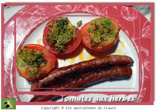 Vie quotidienne de FLaure: Tomates aux herbes