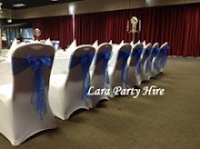 Royal Blue Sashes @ Red Cow Hotel