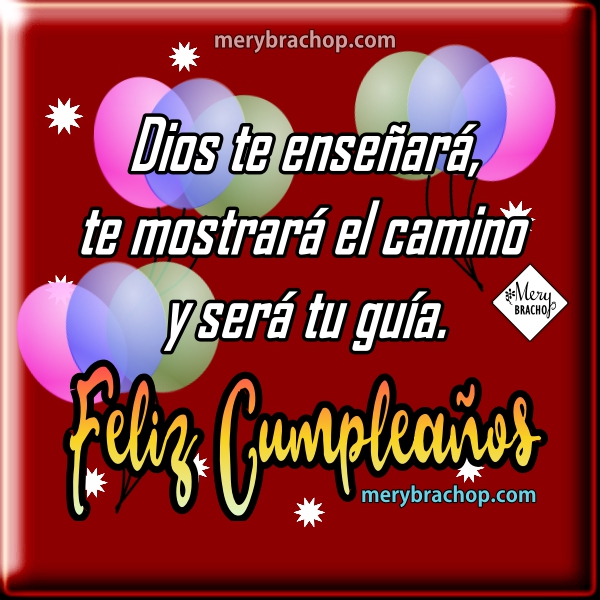 Tarjetas  y frases de cumpleaños para facebook, imágenes para felciitar en cumple por Mery Bracho.