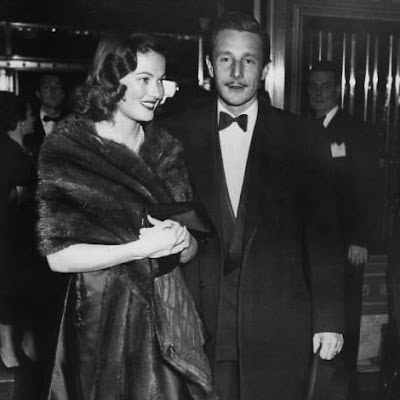 Oleg Cassini divattervező - Gene Tierney and Oleg Cassini