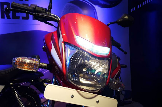 New 2018 Bajaj Platina Comfortec Headlight