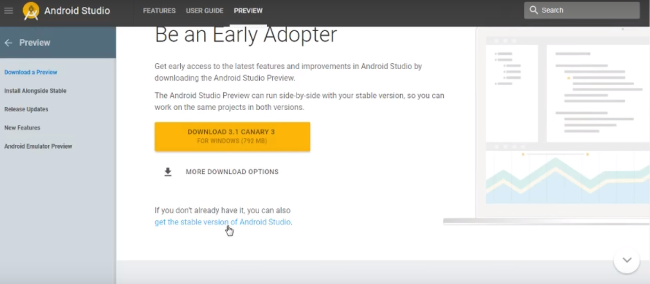 android studio download for pc