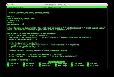 Programming Games In Python
