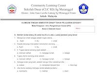 Soal UTS IPS Kelas 2 SD Semester 2 Terbaru