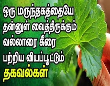 Vallarai Keerai Makathuvam