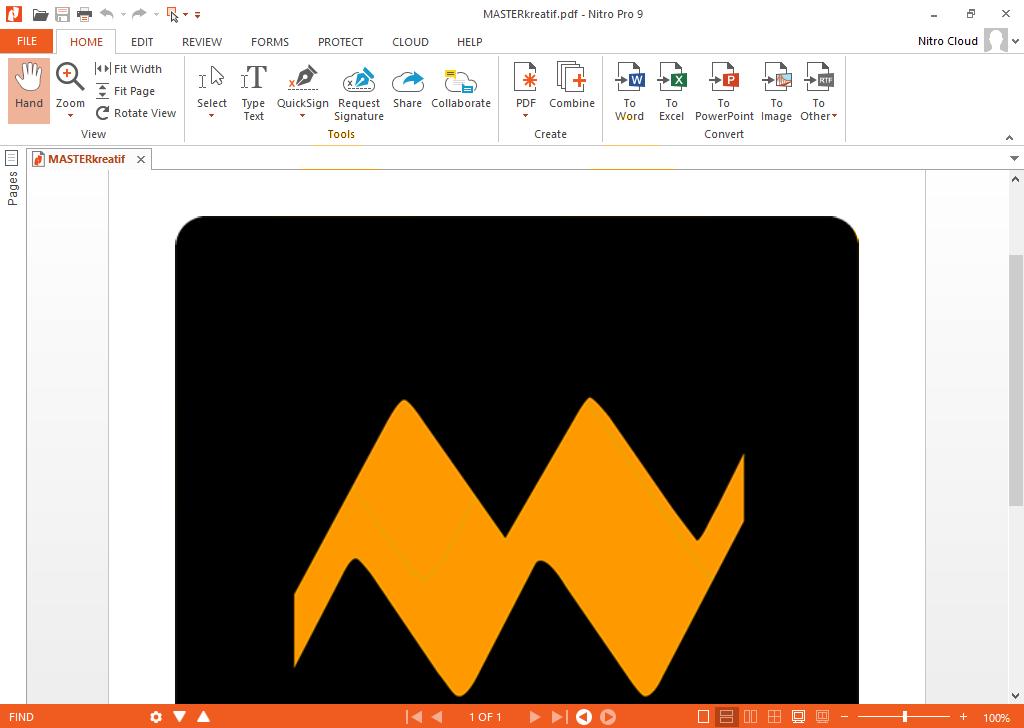 Nitro PDF Professional 9.5.3.8