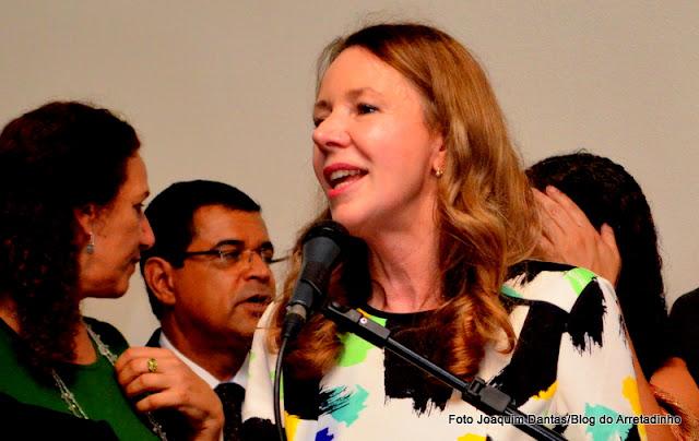 Senadora Vanessa Grazioottin - PCdoB/AM Foto Joaquim Dantas/Arquivo
